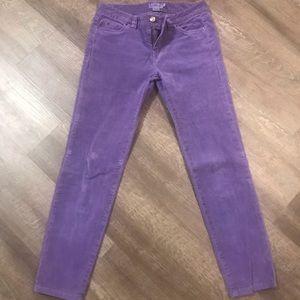 EUC Vineyard Vines Corduroy Purple Pants